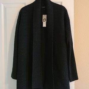 NWT Apt 9 shawl neck open cardigan